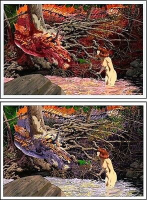 BERNIE WRIGHTSON YOU'RE NEW HERE Variant & Regular Matching Set Limited Edition • 386.13£
