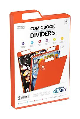 Ultimate Guard Premium Comic Book Dividers Orange (25) • 17.23£