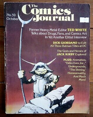 The Comics Journal 59, Ted White, Fantagraphics, October 1980 • 7.99£