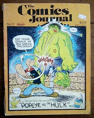 The Comics Journal 71, Mike Friedrich, Fantagraphics, March 1982 • 7.99£