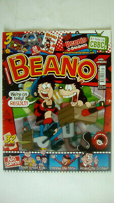 The Beano Number 3498 August 29th 2009 No Free Gifts • 3.49£