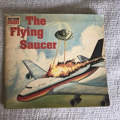 1988 The Flying Saucer (Action Man) Mini Story Books(Aidan Ellis Publishing) • 10£