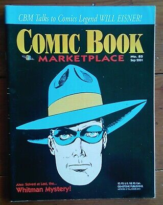 Comic Book Marketplace 85, Will Eisner Interview, Gemstone Publishing, Sep 2001 • 9.99£