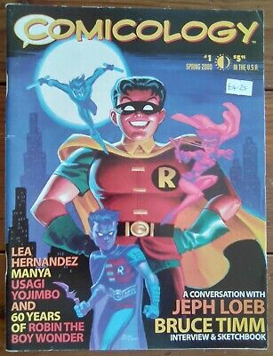 Comicology 1, Loeb & Timm Interview, Twomorrows Publishing, Spring 2000, Vf- • 10.99£