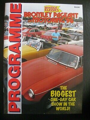 Practical Classics - BROMLEY PAGEANT Of Motoring '95 Programme • 1.30£