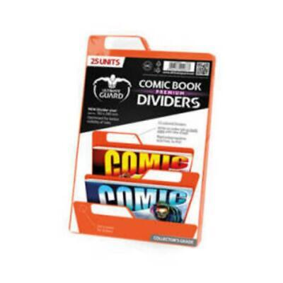 Ultimate Guard Comic Book Dividers Orange 25 Units • 15.17£