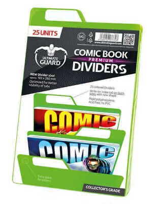 Ultimate Guard Comic Book Dividers Grün (25) • 15.17£
