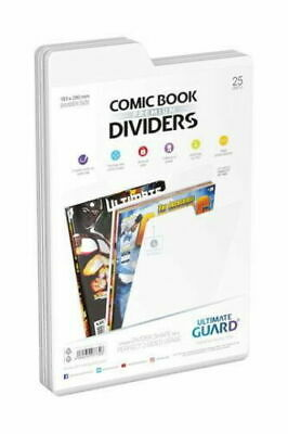 Ultimate Guard Comic Book Dividers Premium Weiß 25 Units • 13.48£