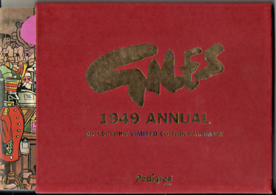 Giles   1949  Annual  Collector's Limited Edition Facsimile   Mint  • 8.99£