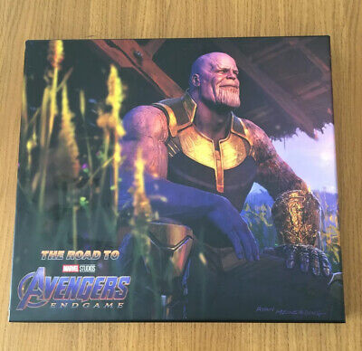 Marvel Art Of The Movie Book The Road To The Endgame Like New • 14.99£