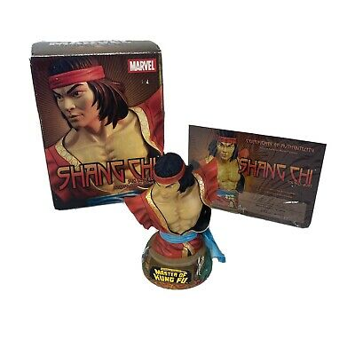 Hands Of SHANG CHI 6  BUST Statue Marvel Universe Master Of Kung Fu With COA • 39.99£