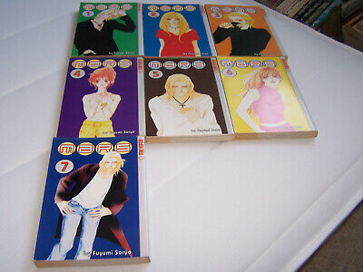 Manga Books Mars Volumes 1-7 • 5£