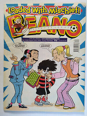 The Beano Comic Number 3188 August 23rd 2003 • 3.99£
