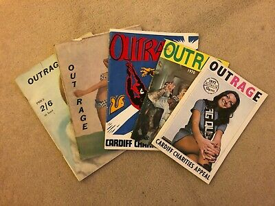 Student Rag Magazines From 1960s And Early 1970s • 3.49£