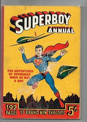 Superboy Annual 1953 -4 / Atlas V.good+ / Unclipped. • 34.99£