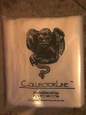 Collectorline Polyethylene Comic Bags Pack Of 100 • 6.99£