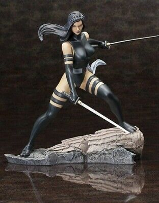 X Force Psylocke Fine Art Statue Series Kotobukiya Marvel Comics • 200£