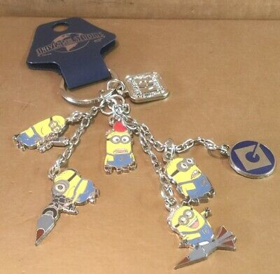 Universal Keychain - Dispicable Me Minion Charms • 25£