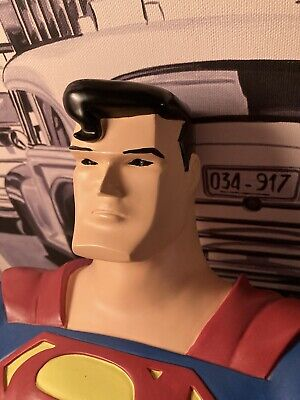 SUPERMAN  BUST 11 Inch 1997 • 99£