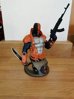 Deathstroke Bust Statue DC Collectables Limited To 2500 Very Rare. With Box • 55£