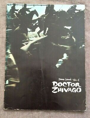 Promotional Booklet For Doctor Zhivago Film, With B/W Photo Of Julie Christie • 34£