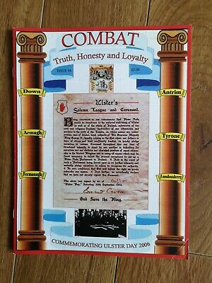 Ulster Loyalist Magazine Combat Issue 38 • 8£