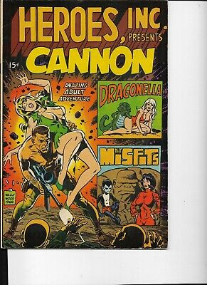 CANNON By Wally Wood. • 2£