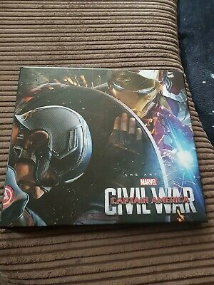 Marvel Captain America Civil War The Art Of Book With Slipcover • 30£