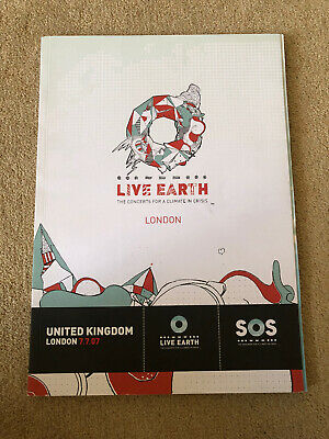 Live Earth Programme - Concerts For A Climate In Crisis 2007  • 0.99£