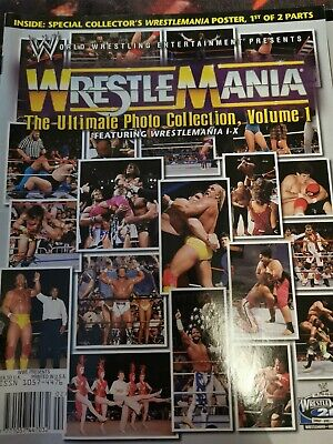 Wrestlemania Ultimate Photo Collection Vol.1 • 2.99£