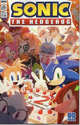 Sonic The Hedgehog 2020 Annual Comic Cover A (Karasuno) IDW Six Stories • 6.95£