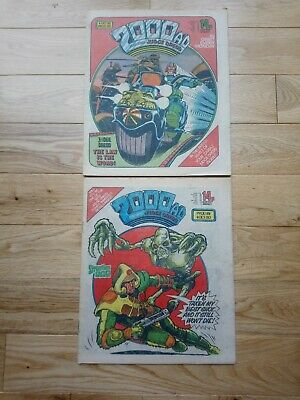 2000ad Progs 180,181, October 1980 • 5£