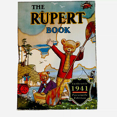 Rupert Bear Annual 1941 Facsimile Edition, Unopened, Condition Brand New 🐻 • 7.99£