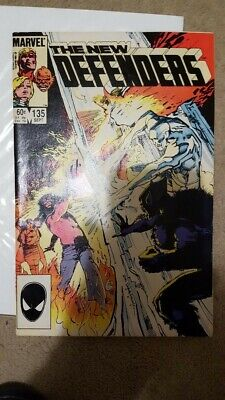 The New Defenders Issue 135 Marvel Comics First Print  • 2£