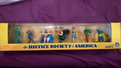 DC Direct 2000 JSA Justice Society America PVC Set Series 2 Figure Figurine • 100£