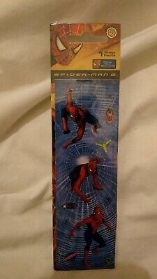2004 04 Spider-Man 2 The Movie Stickers Sandy Lion New Sealed • 20£