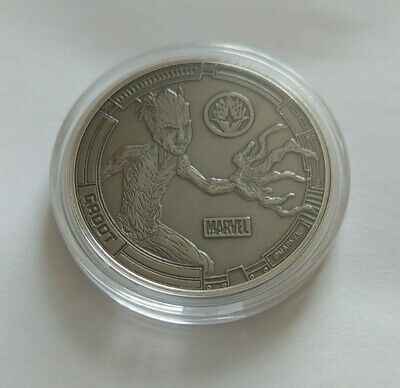 Avengers 38mm Collectors Coin Groot • 25£