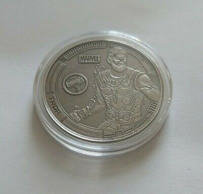 Avengers 38mm Collectors Coin Thor • 25£