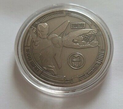 Avengers 38mm Collectors Coin Iron Man • 30£