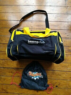Beano Club Drawstring Bag & Travel Bag *RARE* • 2.95£