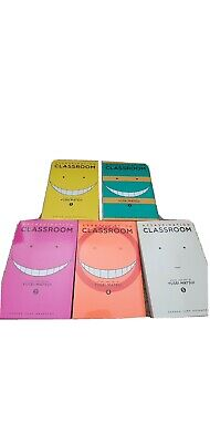 Assasination Classroom Volume 1-5 New • 9.80£