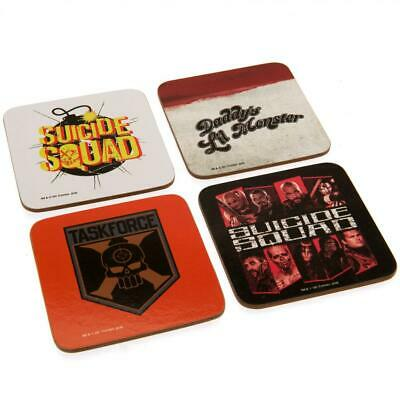 Official Suicide Squad Drinks Coaster Set • 7.99£