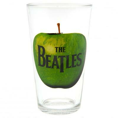 The Beatles Official Licensed Large Glass Apple Logo 500ml • 6.99£