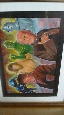 DOCTOR WHO ORIGINAL ARTWORK - Nick Neocleous (NIK) Hartnell Troughton • 119.99£