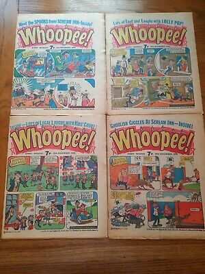 Whoopee Comic 4 Issues 1976 • 1.99£