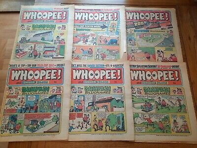 Whoopee Comic 6 Issues 1975 • 2.99£