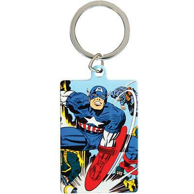 Marvel Comics Metal Keyring Captain America • 4.99£