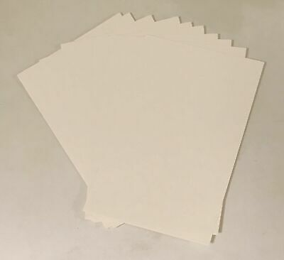 10 X Bronze Age Carboard Backing Boards - 650.gsm • 4.99£