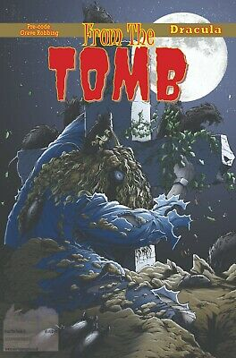 From The Tomb 27 UK Horror Comics Fanzine 68 Pages New • 5£