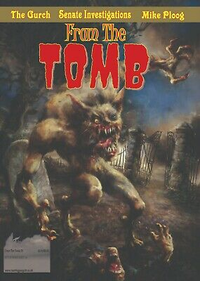 From The Tomb 28 UK Horror Comics Fanzine 68 Pages New Werewolf Issue • 5£